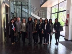 Visita Delegación Tailandesa