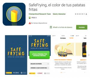 Safefrying app