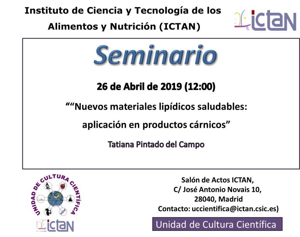 Seminario 2019-04-26