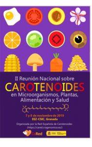 anuncio II reunión Carot Granada nov 2019