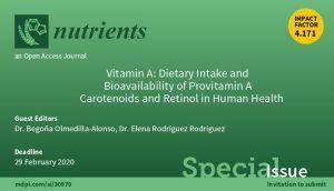 Nutrients Vitamin A